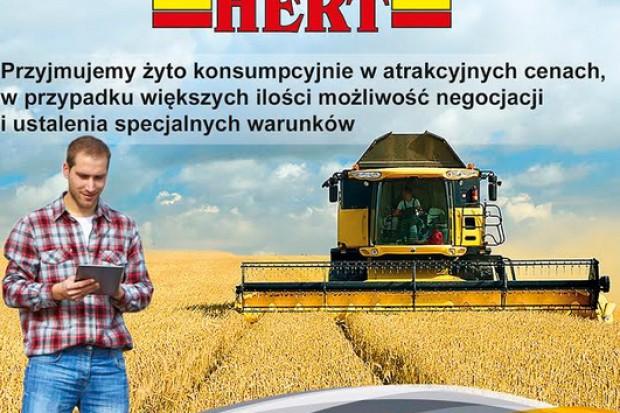Ogłoszenie rolnicze: ŻYTO KONSUMPCYJNE