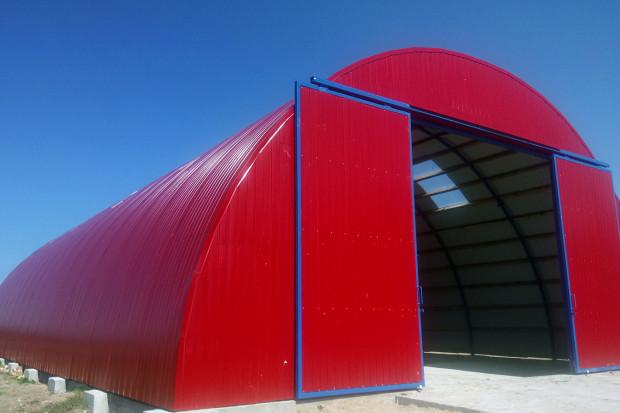 Ogłoszenie rolnicze: HALE łukowe stalowe magazynowe hangar 11,8 x 12,5