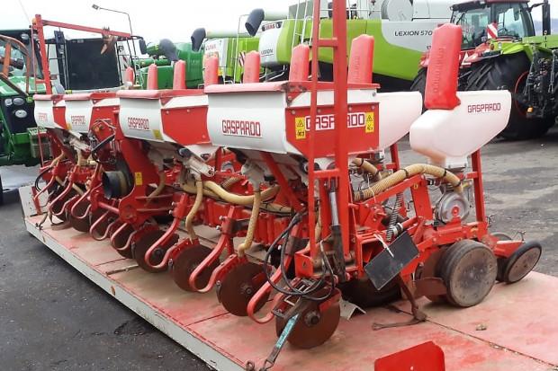 Ogłoszenie rolnicze: SIEWNIK TALERZOWY GASPARDO MT 8 - 8 RZĘDOWY - 2007 ROK