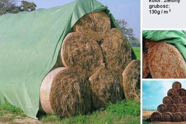 Ogłoszenie rolnicze: Fliz do okrywania siana, słomy, zboża, kopców buraków 10,40 x 25m