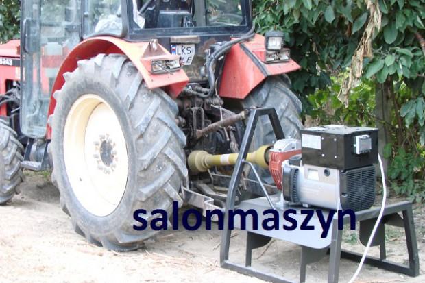 Ogłoszenie rolnicze: AGREGAT PRĄDOTWÓRCZY na przekaźnik WOM ciągnika - 27kVA