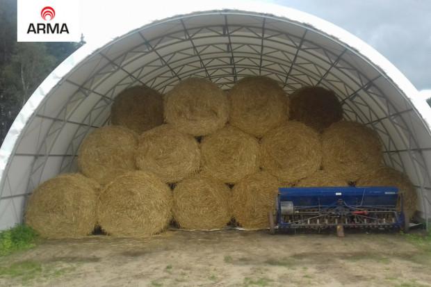 Ogłoszenie rolnicze: hala tunelowa konstrukcja stalowa 10x22