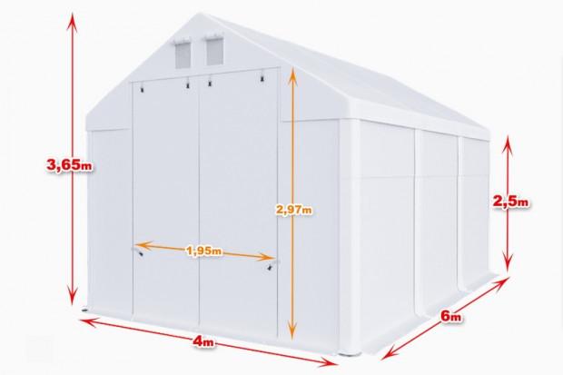 Ogłoszenie rolnicze: Całoroczna hala namiotowa Magazyn WIATA 4X6 X2,5M