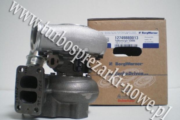 Ogłoszenie rolnicze: Turbosprężarka BorgWarner KKK - Sisu -  6.6 12749880013 /  12749700013