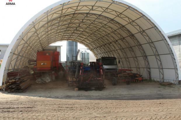 Ogłoszenie rolnicze: tunel rolniczy hala łukowa tunelowa 15x30 od polskiego producenta