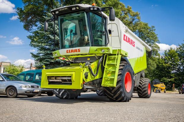 Ogłoszenie rolnicze: Claas LEXION 570 - 2009 ROK