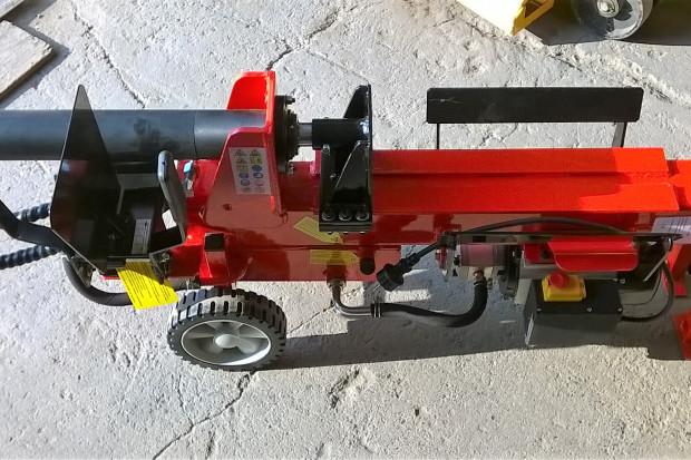 Ogłoszenie rolnicze: Łuparka hydrauliczna pozioma ŁHE 8T-52 230V + Klin