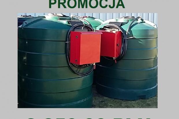 Ogłoszenie rolnicze: Zbiornik na paliwo, jednopłaszczowy (ON) 2500 L- CPN