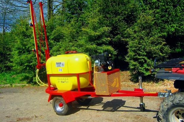 Ogłoszenie rolnicze: Opryskiwacz spalinowy na przyczepie jednoosiowej POLEXIM200B, 6,5kM 200L