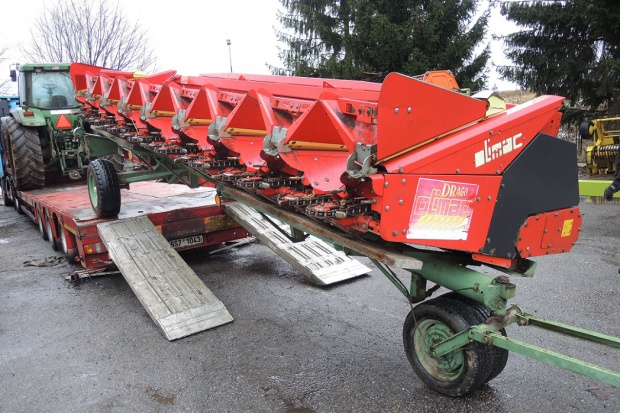 Ogłoszenie rolnicze: PRZYSTAWKA DO KUKURYDZY - OLIMAC DRAGO N8-TR - 2010 ROK