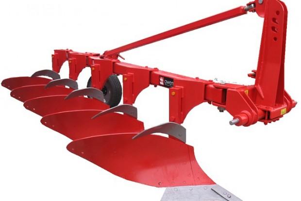 Ogłoszenie rolnicze: Pług jednobelkowy RAMZES RA5+! Regulacja szerokości roboczej!