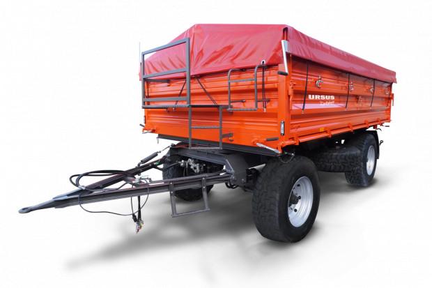 Ogłoszenie rolnicze: Przyczepa dwuosiowa URSUS Dystrybucja UD-610 Ładowność 10 ton