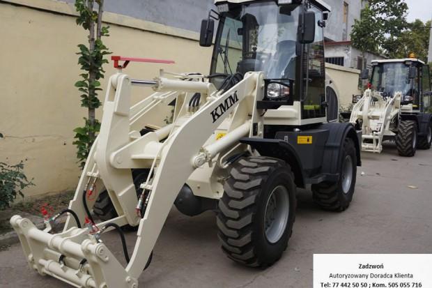 Ogłoszenie rolnicze: Ładowarka kołowa, przegubowa KMM ZL18; 2018r; - promocja