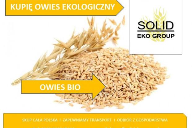 Ogłoszenie rolnicze: Kupię owies ekologiczny