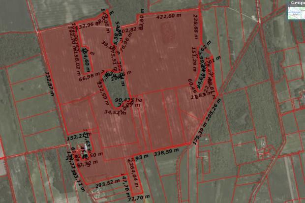 Ogłoszenie rolnicze: Grunt Rolny 93 ha