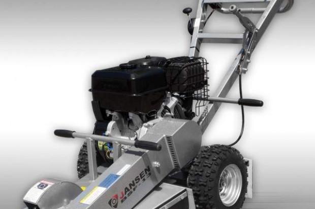 Ogłoszenie rolnicze: KARCZOWNIK, frezarka do pni napęd z silnika 15 kM