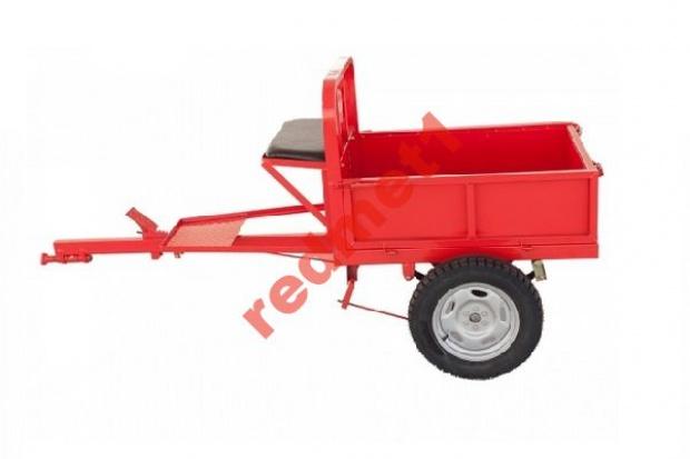 Ogłoszenie rolnicze: Przyczepa do glebogryzarki spalinowej 450 kg