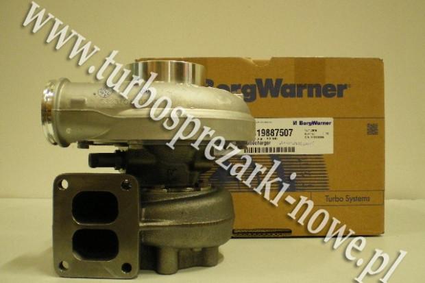 Ogłoszenie rolnicze: MAN - Turbosprężarka BorgWarner KKK 12.8 2834106 /  2836324