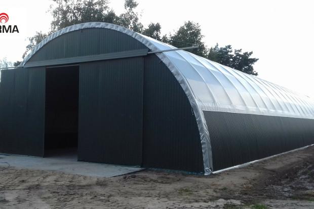 Ogłoszenie rolnicze: konstrukcja stalowa hala tunelowa magazyn 12x22