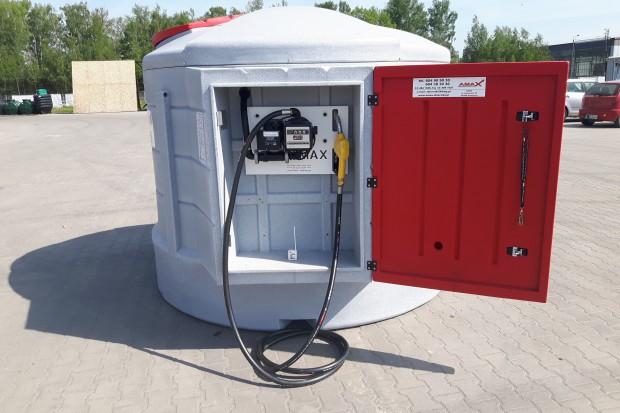 Ogłoszenie rolnicze: Zbiornik na paliwo 5000 litrów CPN diesel stacja paliw olej napędowy AMAX
