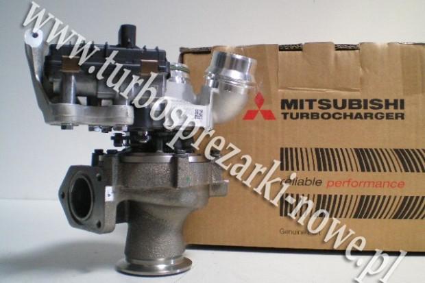 Ogłoszenie rolnicze: BMW - Turbosprężarka MITSUBISHI 2.0 TDI 49335-00600 /  49335
