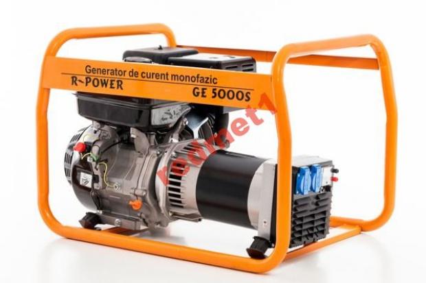 Ogłoszenie rolnicze:  Agregat Prądotwórczy R-Power GE 5000 S (13 HP)