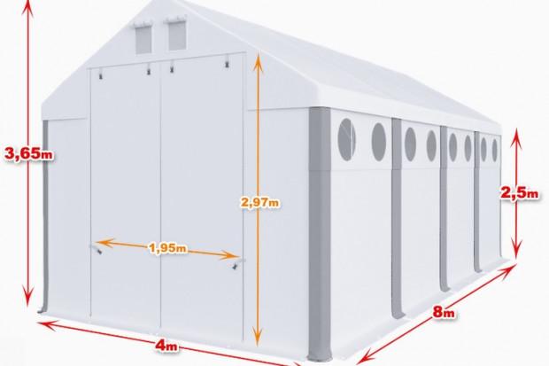 Ogłoszenie rolnicze: Całoroczna Hala namiotowa 4×8×2,5/3,65m