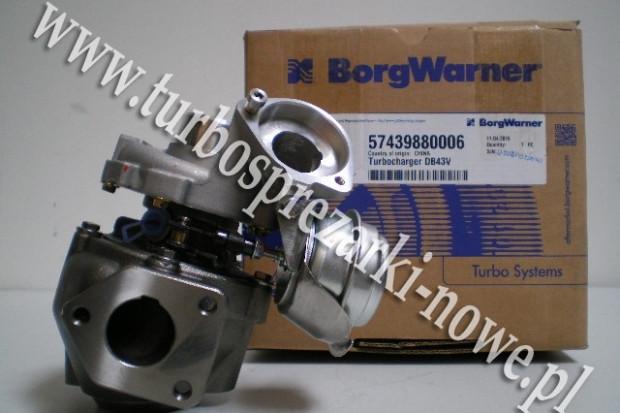 Ogłoszenie rolnicze: BMW - Nowa turbosprężarka BorgWarner KKK 2.0 d 57439880006 /