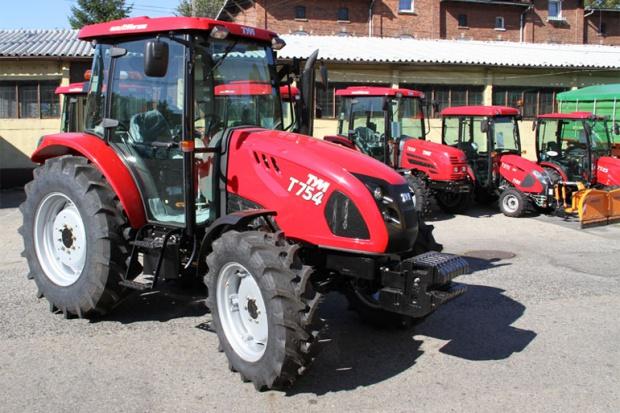Ogłoszenie rolnicze: Ciągnik rolniczy TYM T754 / komunalny traktor  traktorek / NOWY