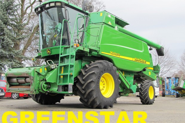 Ogłoszenie rolnicze: JOHN DEERE 9640 WTS - GREENSTAR