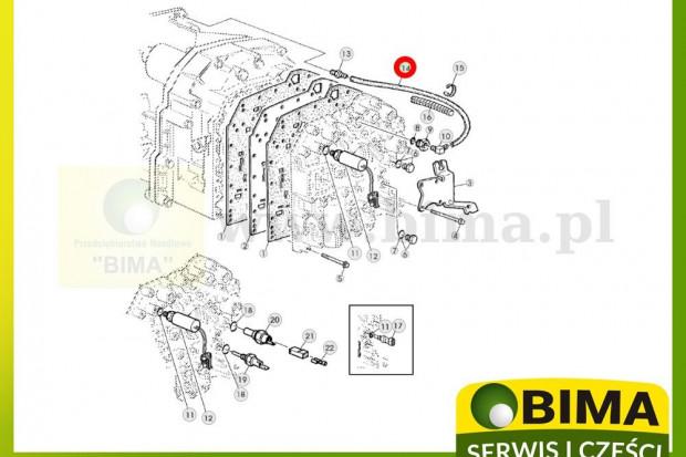 Ogłoszenie rolnicze: Wąż przewód hydrauliczny John Deere 5090R,5090RN,5100R