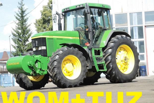 Ogłoszenie rolnicze: JOHN DEERE 7810 + PQ + WOM + TUZ - 2001 ROK
