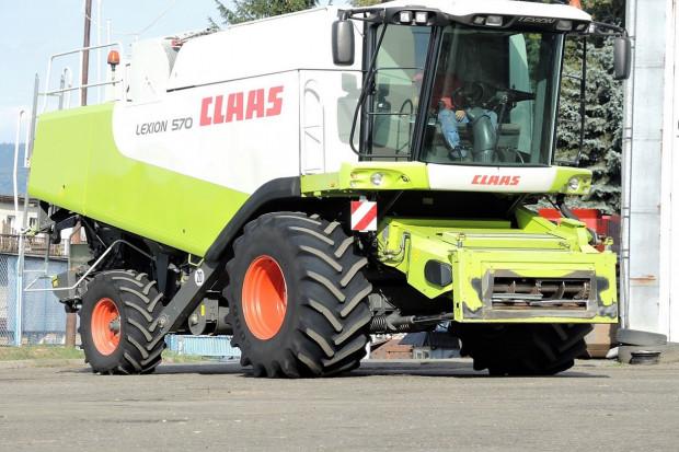 Ogłoszenie rolnicze: CLAAS LEXION 570 - CAT C13 - 528 KM - V750 - 2006 ROK
