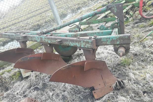 Ogłoszenie rolnicze: Pług Unia Grudziądz 4 skibowy