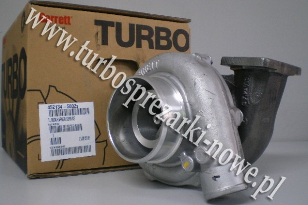 Ogłoszenie rolnicze: Case-IH - Turbosprężarka GARRETT  452134-5002S /  452134-2 /
