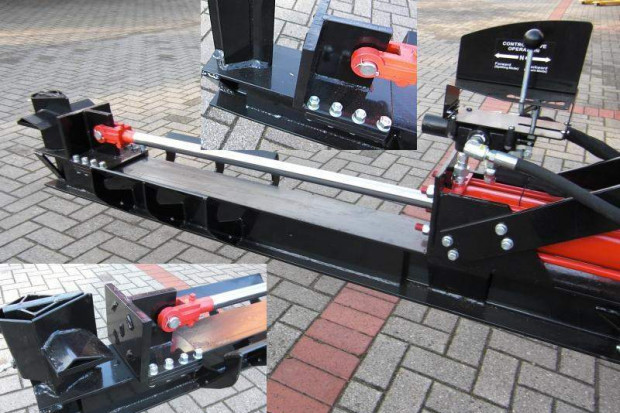 Ogłoszenie rolnicze: Łuparka hydrauliczna ciągnikowa. Nacisk 14 t, 105 cm