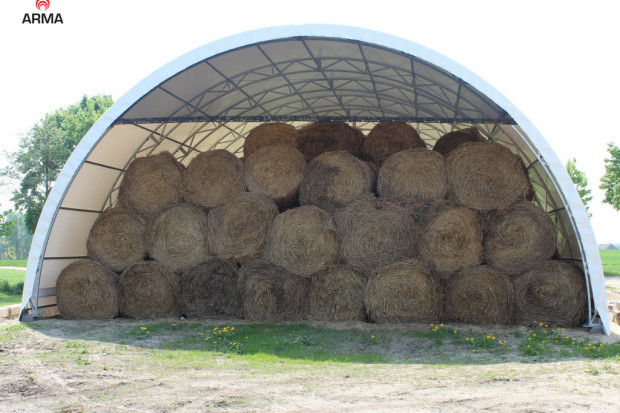 Ogłoszenie rolnicze: magazyn garaż wiata tunel rolniczy 10x32