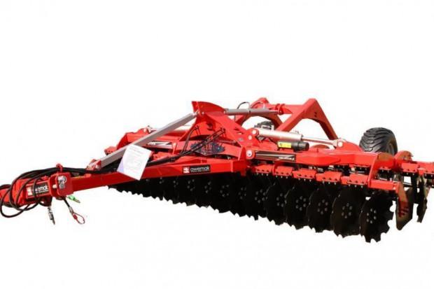 Ogłoszenie rolnicze: BTH45 Brona talerzowa hydraulicznie składana od 4 m do 6 m