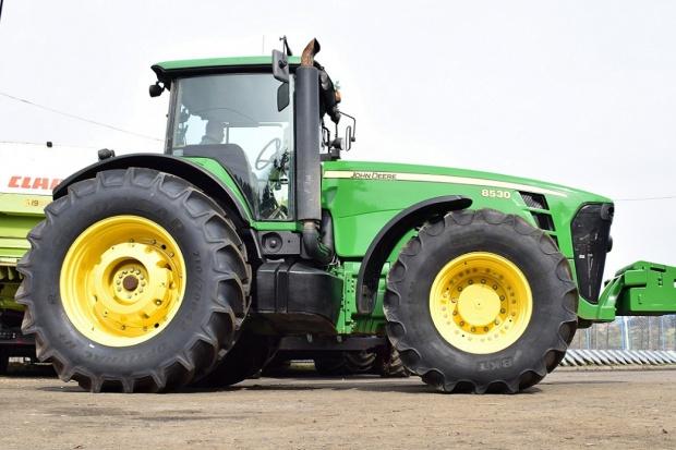 Ogłoszenie rolnicze: CIĄGNIK JOHN DEERE 8530 - 2007