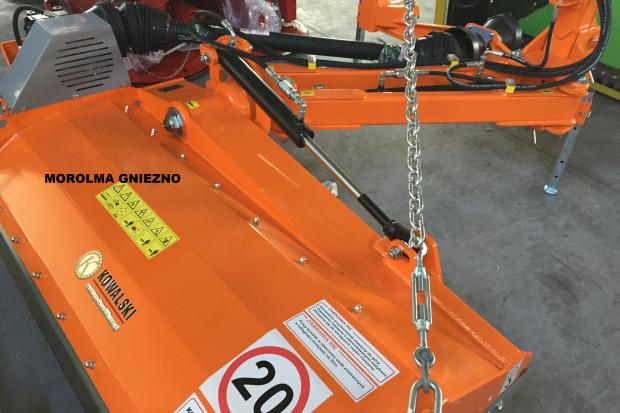 Ogłoszenie rolnicze: Kosiarka komunalna bijakowa do poboczy KOWALSKI KB16 mulczerrozdrabniacz