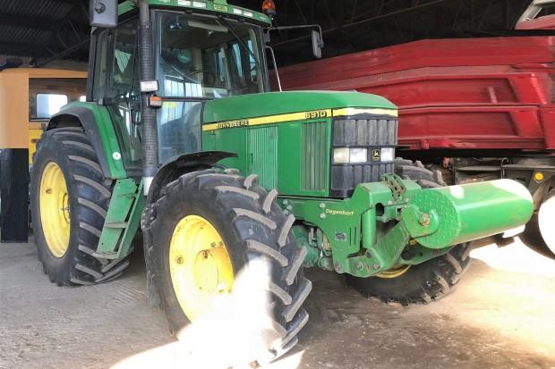 Ogłoszenie rolnicze: JOHN DEERE 6910 TLS + PQ + TUZ - 2001 ROK