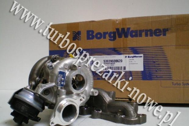 Ogłoszenie rolnicze: Audi - Turbosprężarka BorgWarner KKK 2.0 TDI 53039700414 /