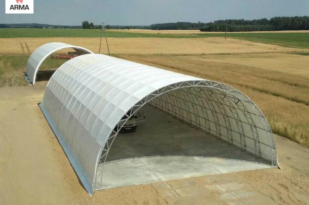 Ogłoszenie rolnicze: hala tunelowa magazyn konstrukcja kratownicowa nowa 12x30