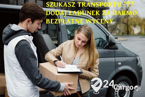 Ogłoszenie rolnicze: Wyślij swój ładunek za darmo! Darmowa giełda transportowa 24Cargo.pl