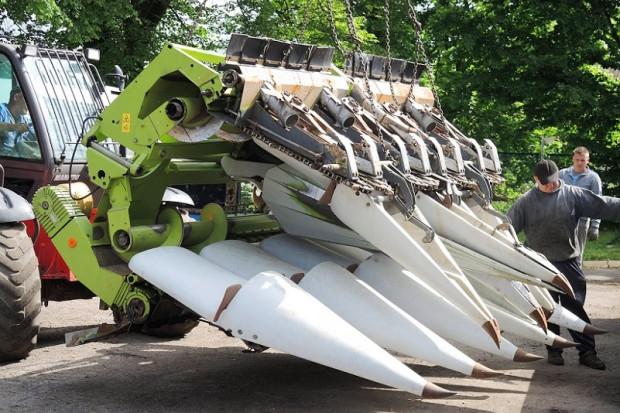 Ogłoszenie rolnicze: PRZYSTAWKA DO KUKURYDZY - CLAAS CONSPEED 8-75 FC - 2009 ROK