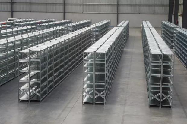 Ogłoszenie rolnicze:  Regał Magazynowy kontenerowy 2,5m 1500kg Solidny Elegancki