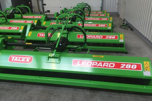 Ogłoszenie rolnicze: Kosiarka bijakowa mulczer TALEX LEOPARD do nieużytków traw i ugorów
