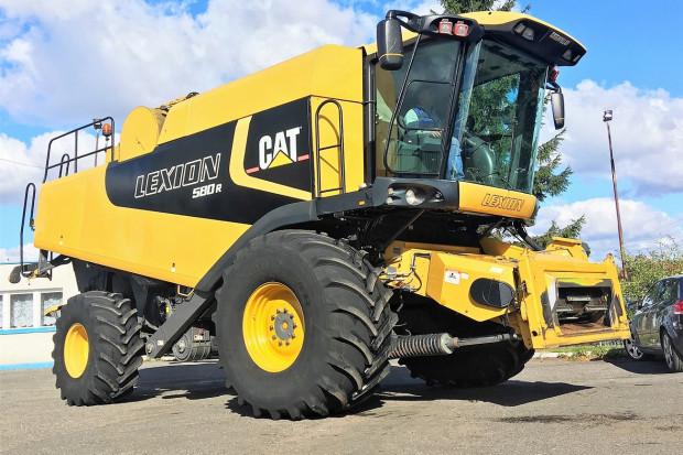 Ogłoszenie rolnicze: CAT LEXION 580R - 9 M - 2006 ROK