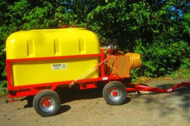 Ogłoszenie rolnicze: OPRYSKIWACZ spalinowy do wózków widłowych, ładowarek 800L 6,5kM