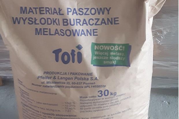 Ogłoszenie rolnicze: Wysłodki buraczane melasowane granulowane Tofi
